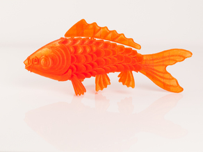 'On Such a Full Sea' Koi Fish