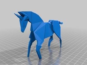 """""""Blade Runner"""" Origami Unicorn"""