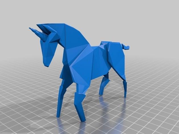 Second Life Marketplace - Blade Runner - Deckard's Origami Unicorn ... | 472x628