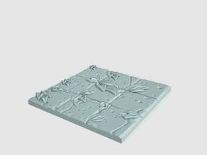 Tilescape™ DUNGEONS Overgrown Tile