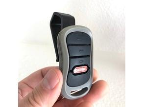 Genie Garage Door Remote Visor Clip