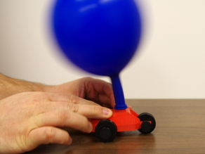 We Are 3D - Balloon Car
