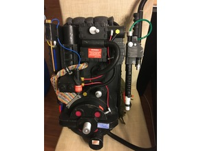 Spirit Halloween proton pack smoke and other upgrades