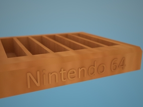 Nintendo 64 Game Cartridge Holder