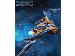 Peter Quill's Milano spaceship from Guardians of the Galaxy by Marvell Studio's