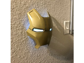 Iron Man Faceplate Lamp