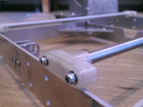 P3steel y-Axis smoothrod mount