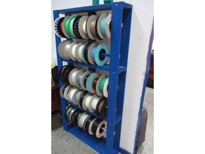 old Pallet to Spools hanger
