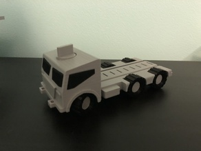 M.A.X. Truck - The Modular Toy Truck - Base Vehicle