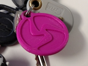 3D-Fuel Logo Keychain