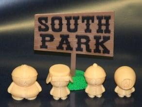 South Park Sign