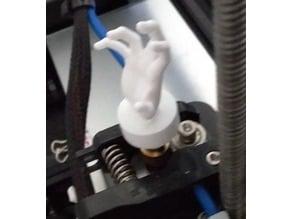 Extruder knob Zombie Hand