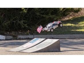Slash Bumper Flag Mount