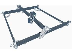3 axis Laser/CNC/Printer internal belt