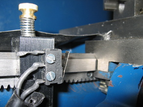 Lathe Carriage Autostop