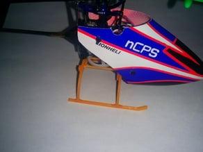 blade nano cps\cpx landing gear skids