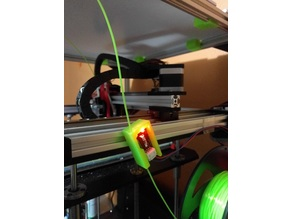 Filament runout sensor mount