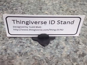 Thingiverse ID Stand