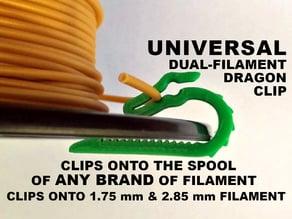 Universal Dual Filament Dragon Clip