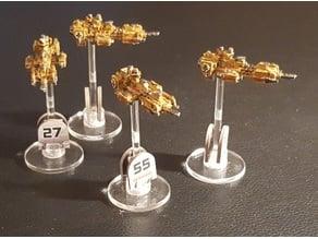 Battlefleet Gothic Scale Nova Frigate Proxy