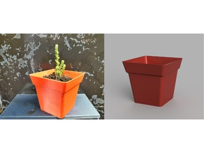Very Simple Square Planter