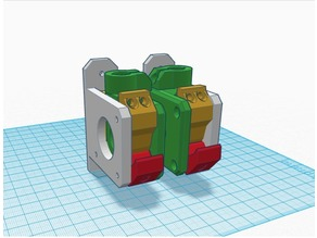CTC dual Bowden extruder