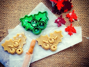 Mistletoe Cookie Cutter