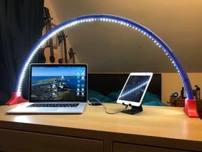 Simple LED light Bridge/Arc (Easy Print)