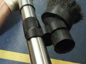 Portable Vacuum Brush Clip