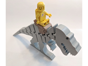 Lego Saddle for Flexi-Trex