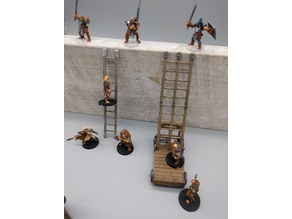 OpenForge - Siege and Scaling Ladders