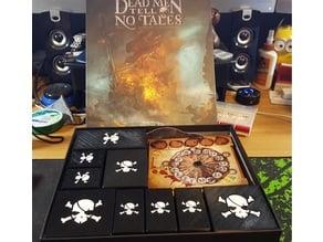 Dead Men Tell No Tales (Board Game Insert & Storage) Remix