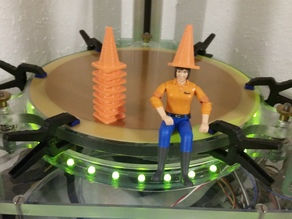 traffic cone for bruder scale 1:16