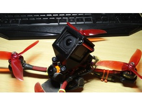Cherrycraft Stamina FPV Racing 45 Degree GoPro Mount
