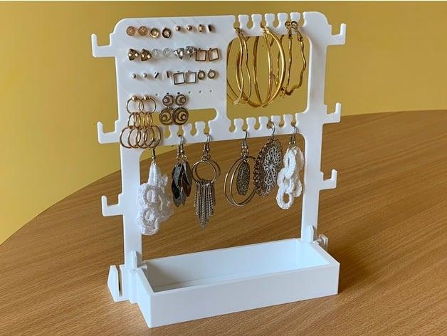jewelry organizer, alternative main part by dma687 - Thingiverse