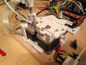 New base plate with better extruder