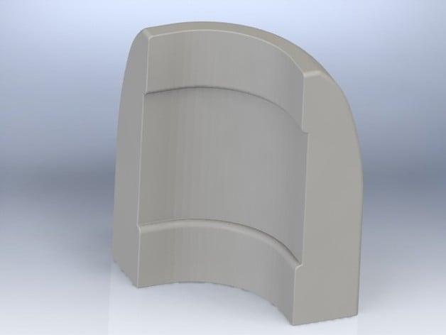 Baseboard Trim Streamline Bullnose Corner By Drewpeclerc Thingiverse