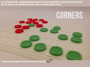 Corners - A Strategic Board Game