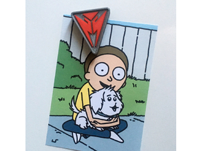 Rick & Morty Fridge Magnet
