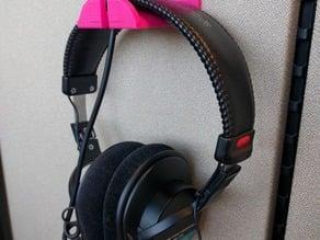 Cubicle Headphone Hook
