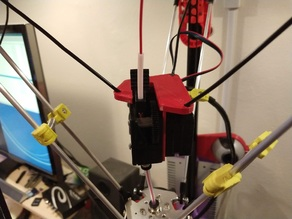 """Flying extruder bracket for """"Two Trees"""" titan extruder"""