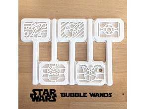 Star Wars Bubble Wands