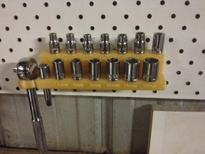 Pegboard Socket Set Holder