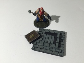 Zombicide Black Plague Vault Door