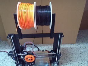 Filament roll support for Power Code