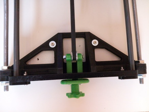 Anet A8 Front Frame Brace with mounting option