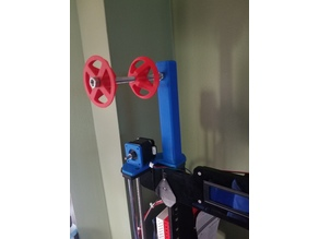 Anet A8 Improved Bowden Titan Extruder with Spool Filment Holder