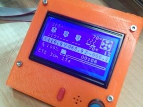 Smart LCD Sunhokey flattened for printing