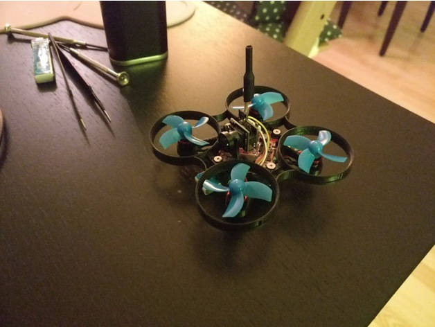 65mm Brushless Whoop Frame for 0603 motors  by Ghostface