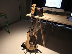 Wood Shell Guitar / Lasercut Guitar